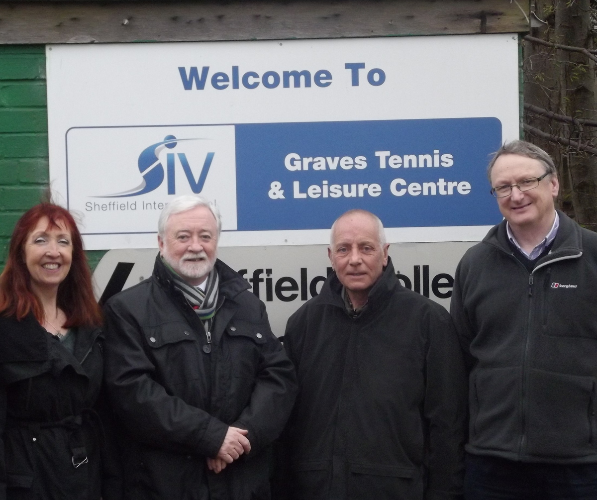 Big Cash Boost For Graves Leisure Centre Steve Ayris